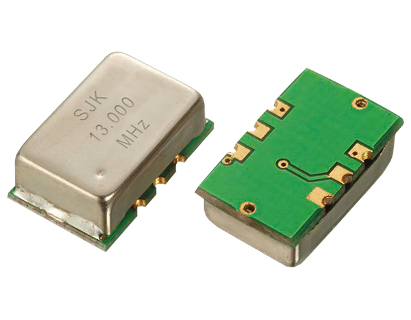 What does a crystal oscillator do